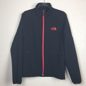 The North Face Black Jacket Red M
